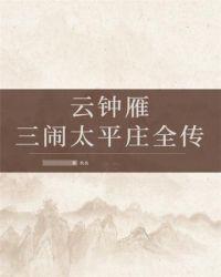 云钟雁三闹太平庄全传封面