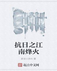 抗日之江南烽火封面